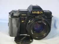 '    7000 2 Million -GOLD- Edition -RARE-  ' Minolta 7000  SLR Camera 2,000,000 Gold Limited Edition c/w 50mm AF Lens  £129.99